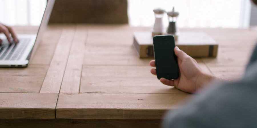 Man versus phone